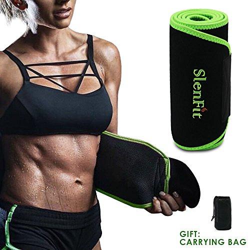 0836e75540 Back Brace Abdominal Muscle Lumbar Support – Waist Trimmer Sweat Belt for  Fast Weight Loss Waist Trainer for Women   Men Adjustable Stomach Fat  Burner ...