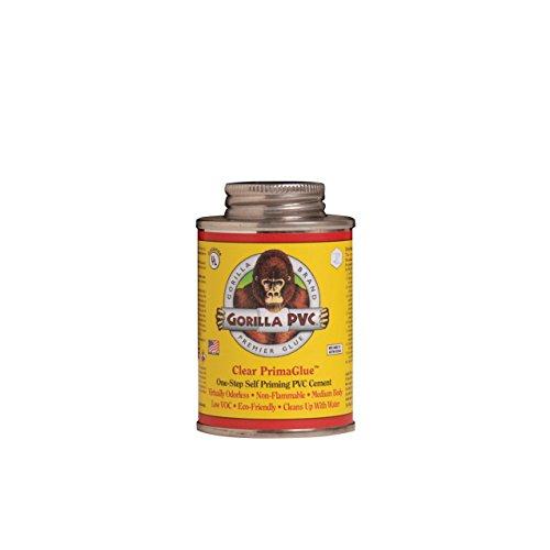 Gorilla Clear Pvc Primaglue 4oz Ramzes One